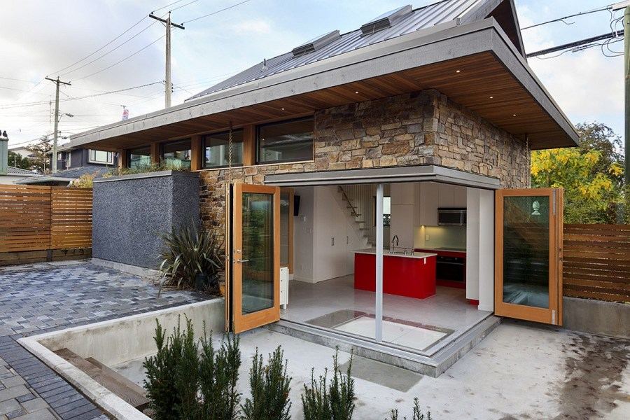 An energy efficient contemporary laneway house by Lanefab   Small     An energy efficient contemporary laneway house by Lanefab   Small House  Bliss