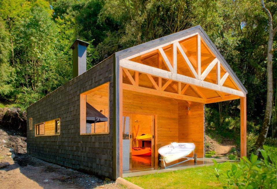 Casa Bote Matas Silva Aldunate Small House Bliss