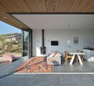 This vacation cottage sits on the sand dunes of a Dutch coastal island. It has two small bedrooms in 646 sq ft. | www.facebook.com/SmallHouseBliss