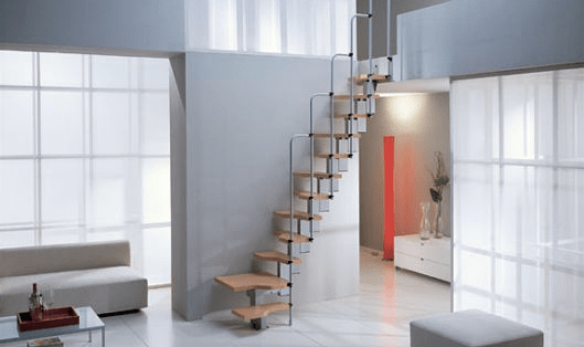 Building Stairways For Small Spaces Small House Design | Stairs For Small Spaces | Modern | Living Room | Beautiful | Design | Metal