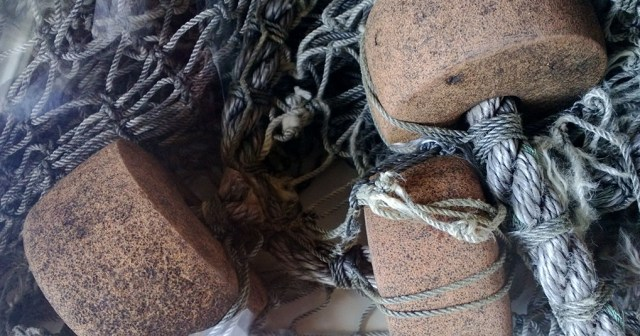 Fishing Nets and Floats Montara CA