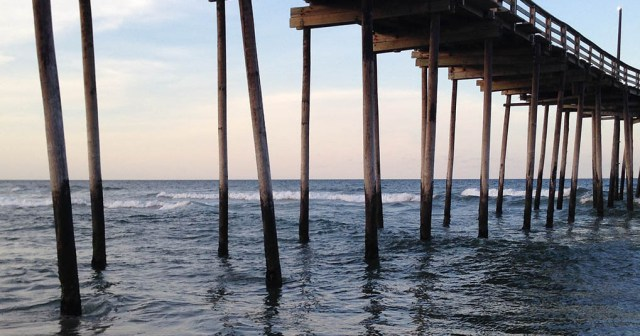 Pier at Avon Outer Banks NC