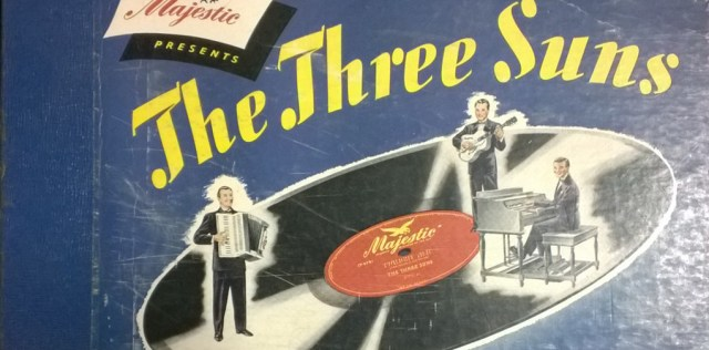 Record Jacket Art in a Thrift Store