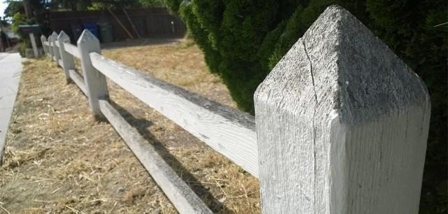 Wooden Fence Santa Cruz CA