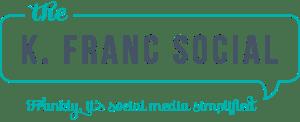 The K Franc Social logo