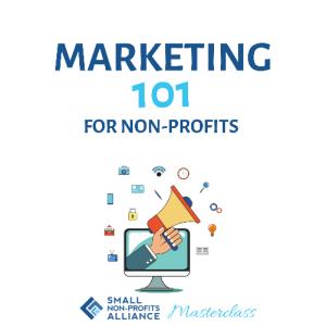 Marketing 101 for non-profits webinar