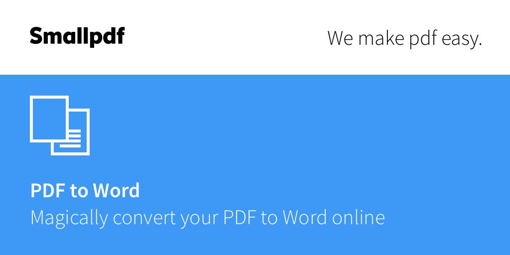 تحويل Pdf إلى Word مجانا باستخدام