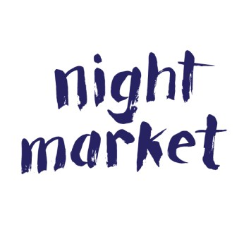 Night Market Logo Development