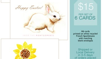 Print shop personalized easter gift tags small pond graphics easter cards negle Image collections