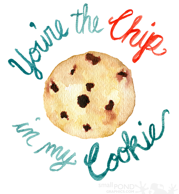 Happy National Chocolate Chip Day! [printable]