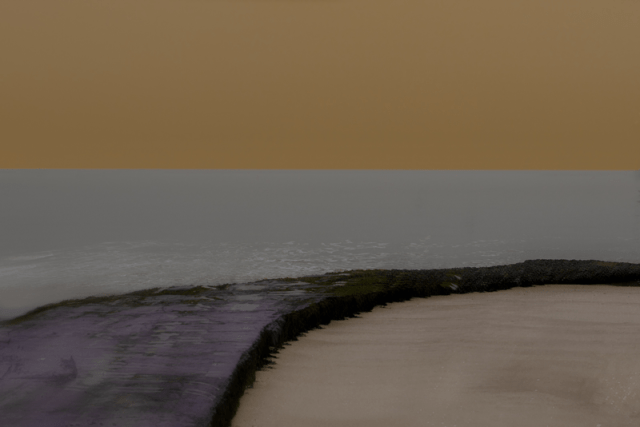 Margate Abstract by Valda Bailey