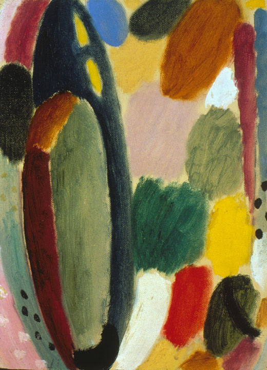 Autumn Sound, 1918 by Alexej Jawlensky. © 2018 Long Beach Museum of Art.
