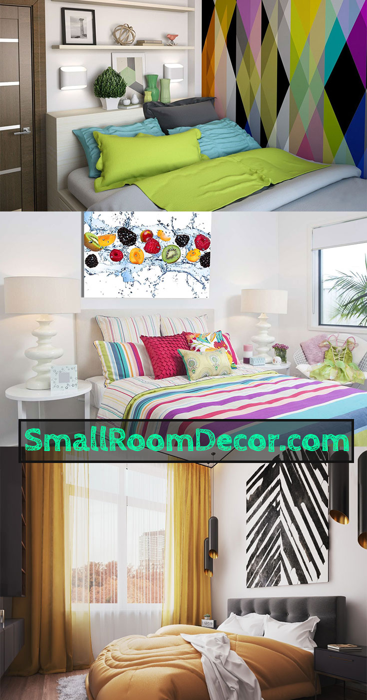 9 Small Bedroom Color Ideas 35 Photos Accent Wall Paint Combinations
