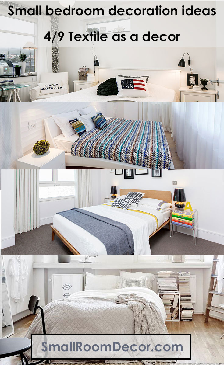 9 Modern Small Bedroom Decorating Ideas [Minimalist style ... on Small Room Decoration  id=76820