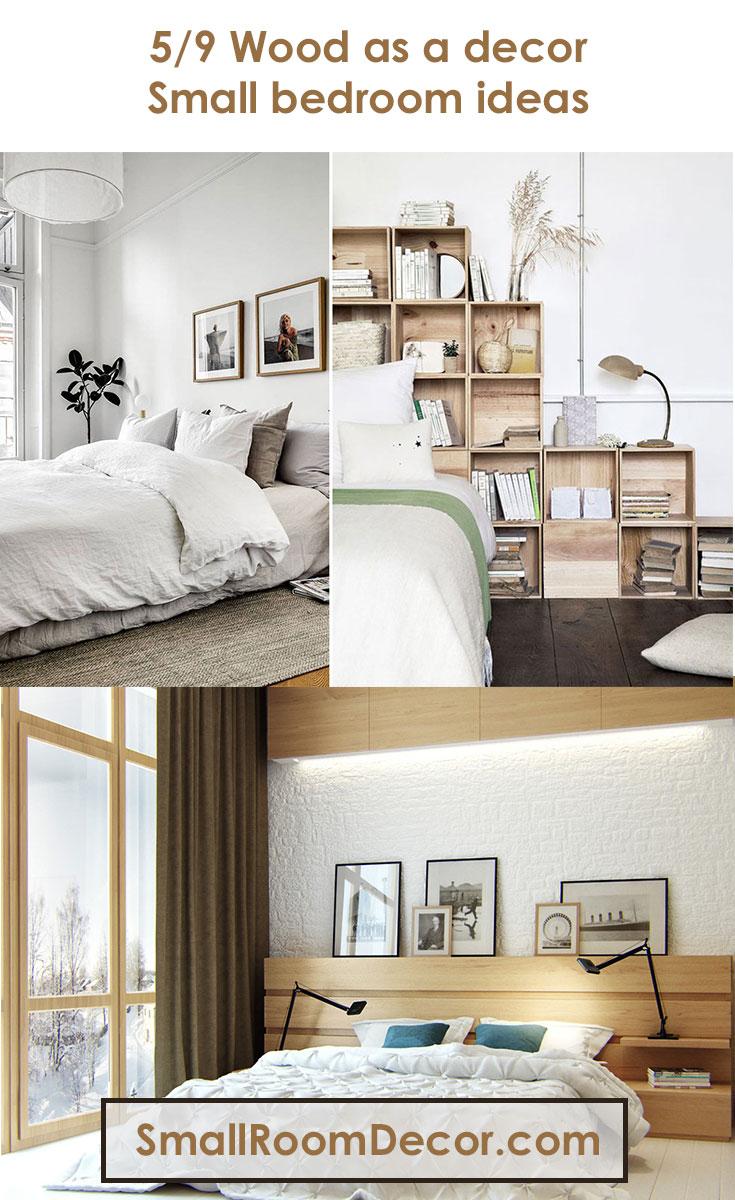 9 Modern Small Bedroom Decorating Ideas [Minimalist style ... on Small Room Decoration  id=34703