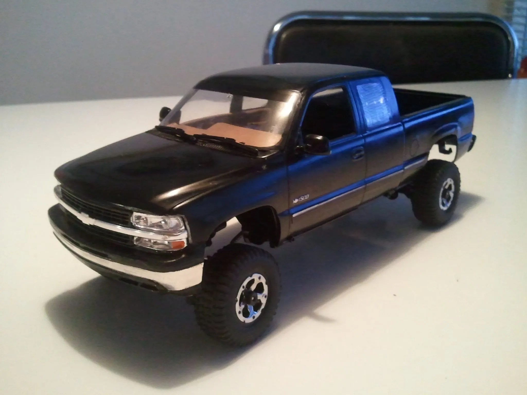 Small Scale A Custom 99 Chevy Silverado Losi Mini Crawler Video