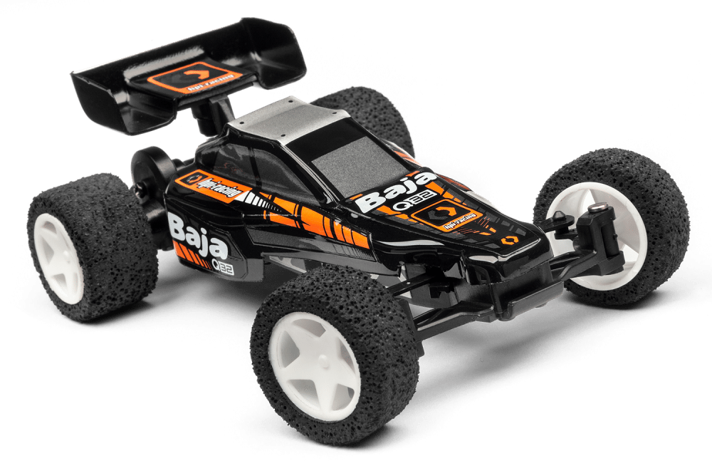 Blast away boredom with HPI's new 1/32 scale Q32 Baja.