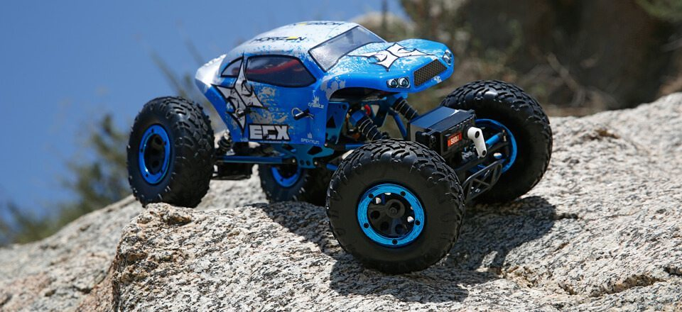 ECX Hits the Rocks with the 1/18 Temper