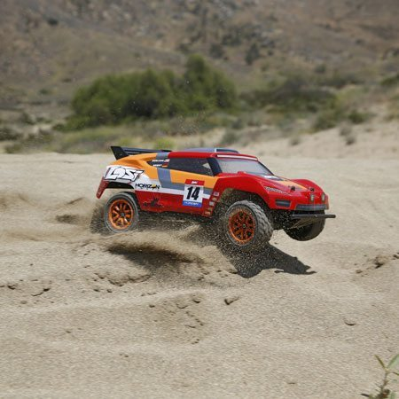 Take on the World with Losi's Mini Desert Truck