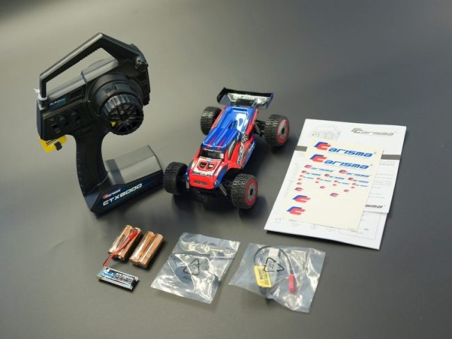 Carisma GT24TR Micro Truggy RTR Setup