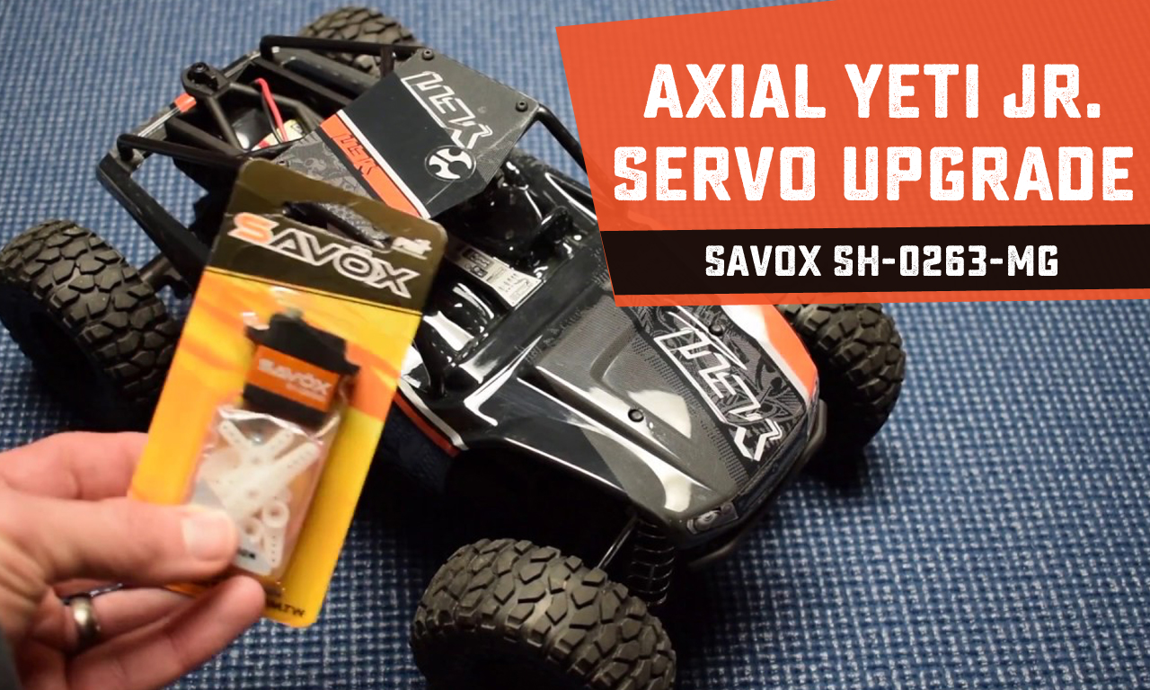 How-To: Upgrade the Steering Servo on the Axial Yeti Jr. Rock Racer