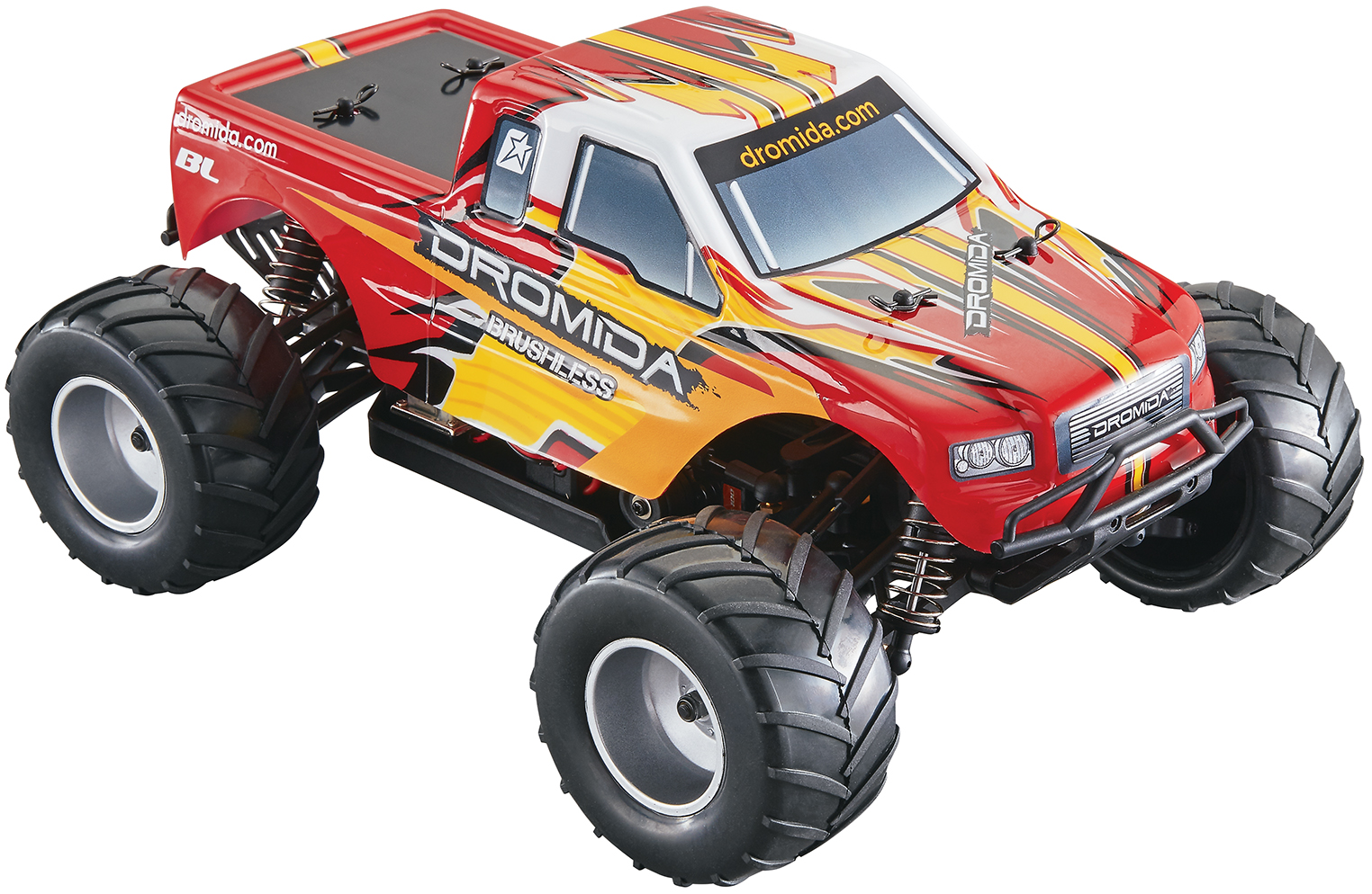 Dromida's 1/18-scale, Brushless-powered Monster Truck