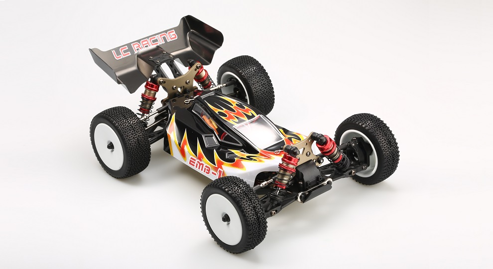 LC Racing's EMB-1H 1/14-Scale Brushless R/C Buggy