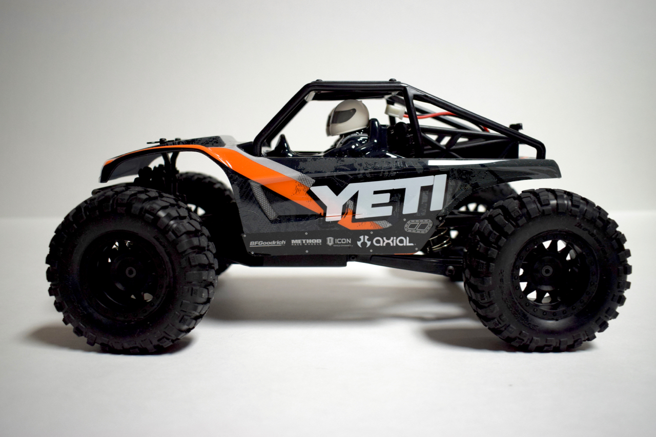Upgrades and Hop-Ups for the Axial Yeti Jr. (Rock Racer, SCORE Trophy Truck & CAN-AM Maverick)