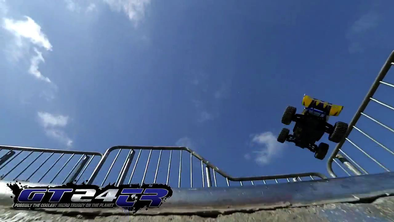 A Small-Scale Skatepark Assault Featuring Carisma's GT24M & GT24TR [Video]
