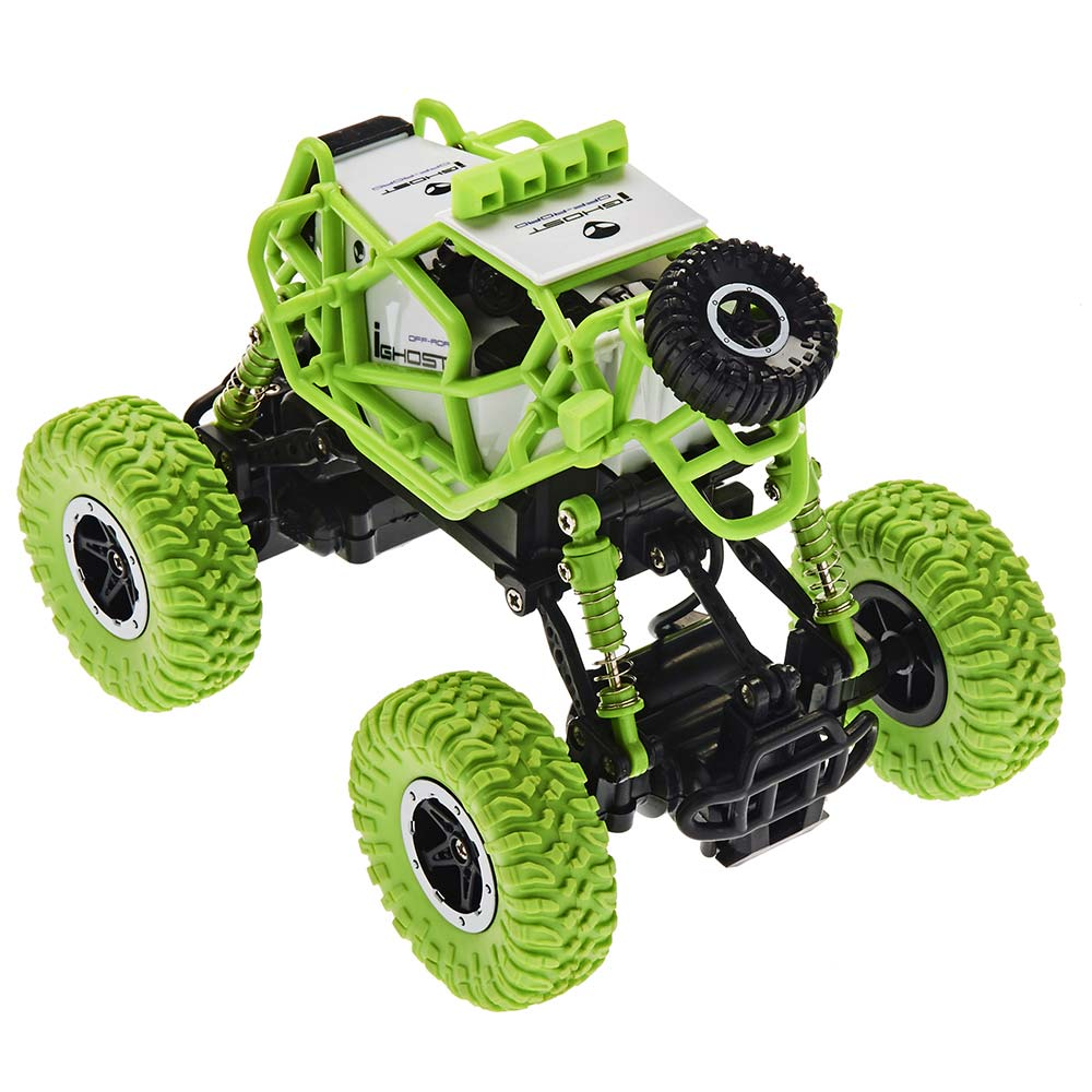 RC Fun Micro Rock Crawler - Green Rear