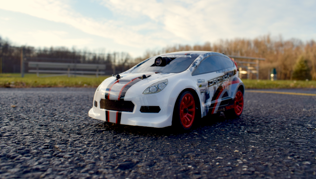 Dromida FPV Rally Car - Park Front
