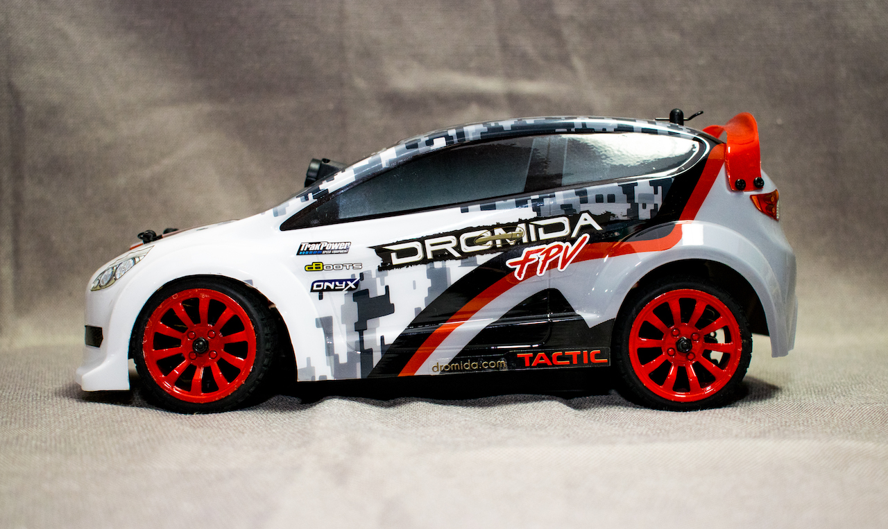 Dromida FPV Rally Car - Side
