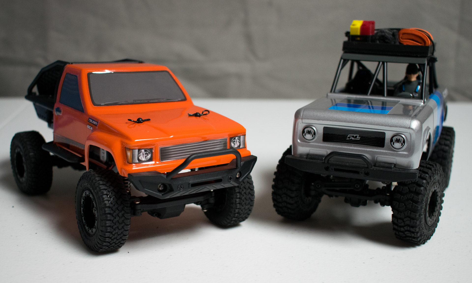 ECX Barrage 1-24 and Pro-Line Ambush