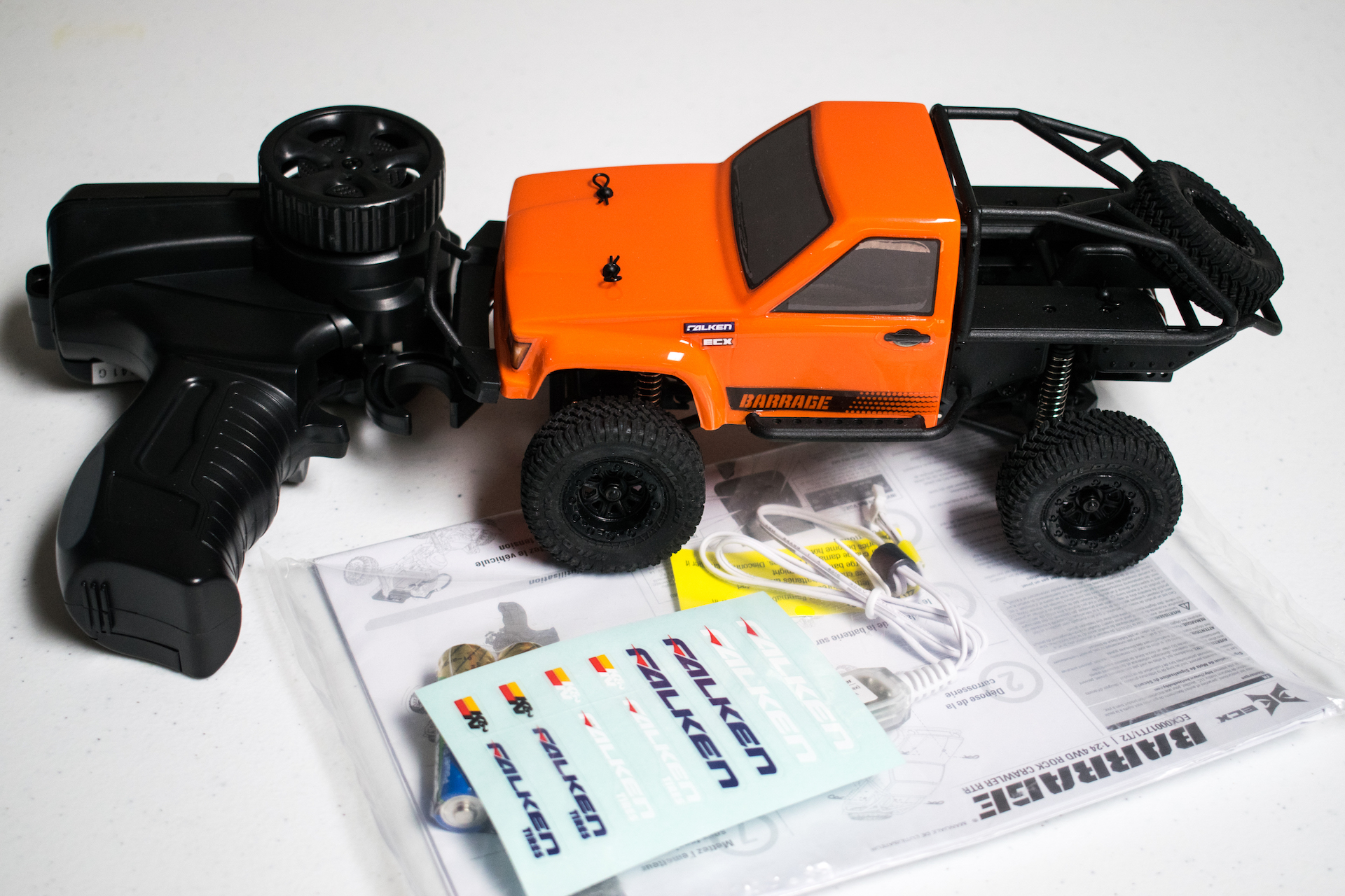 First Impressions: ECX Barrage 1/24 Micro R/C Crawler