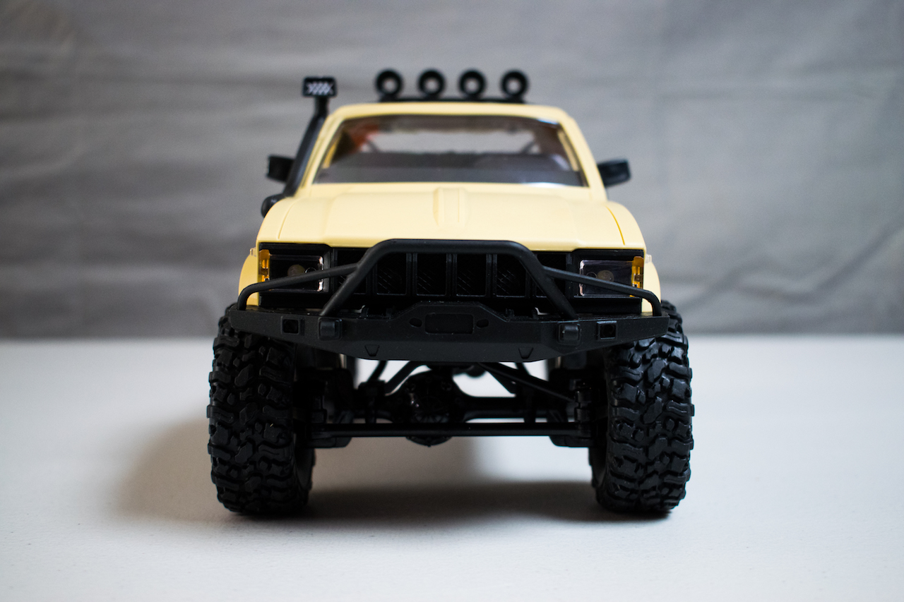 """First Impressions: WPL C14 """"Hercules"""" 1/16-scale RTR Trail Truck"""