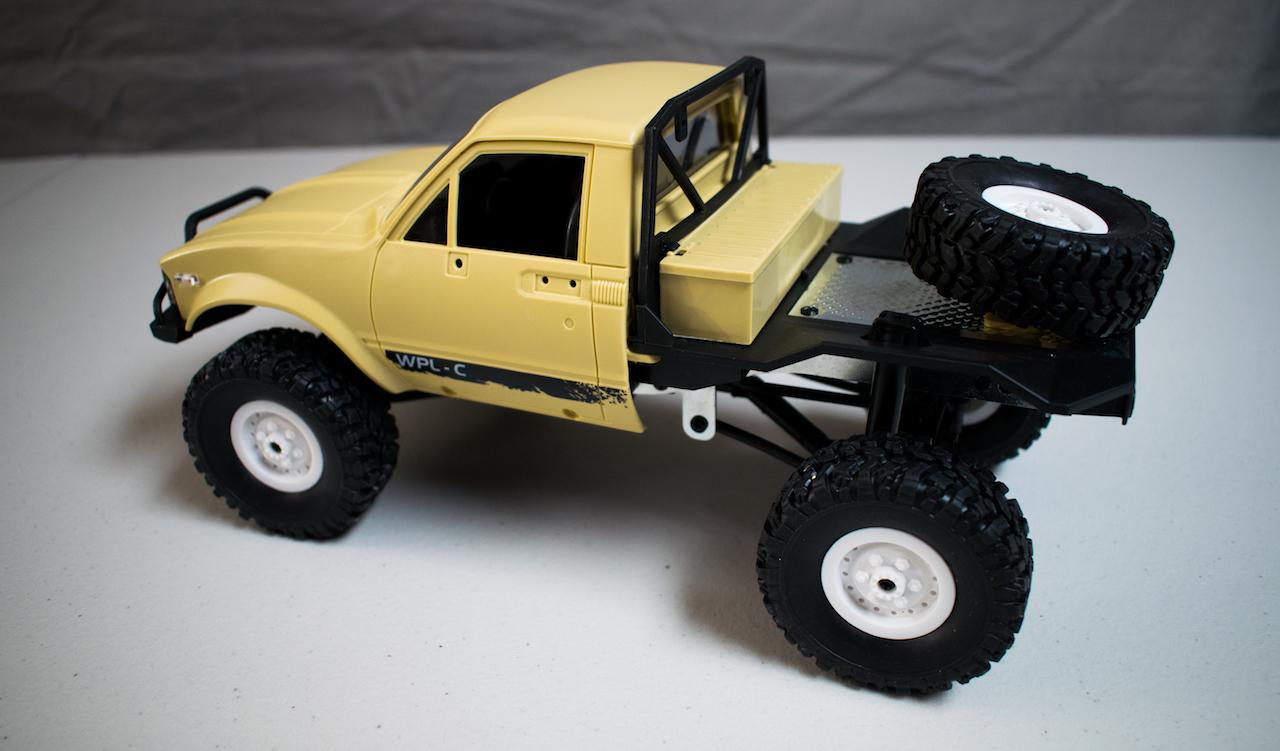 WPL C14 - Rear Side