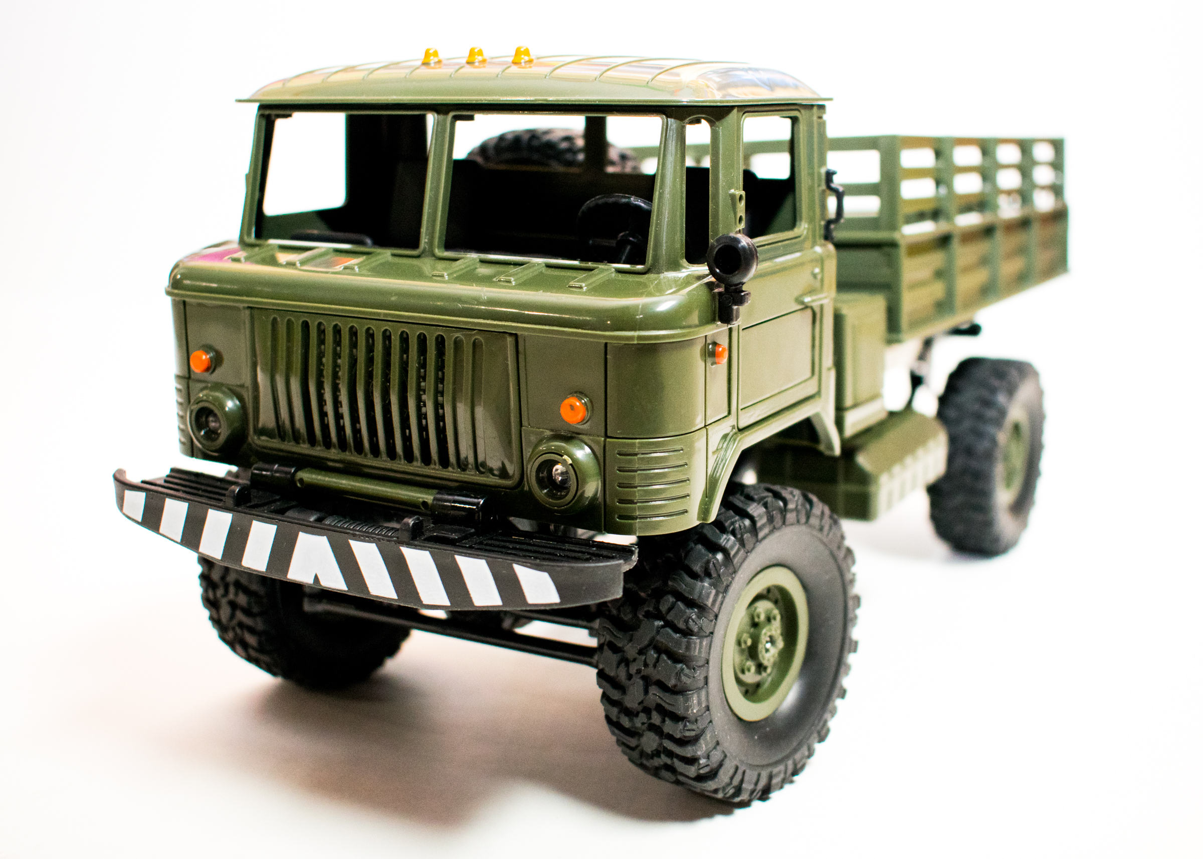 "First Impressions: WPL B-24 ""GAZ-66"" 1/16-scale R/C Military Truck"