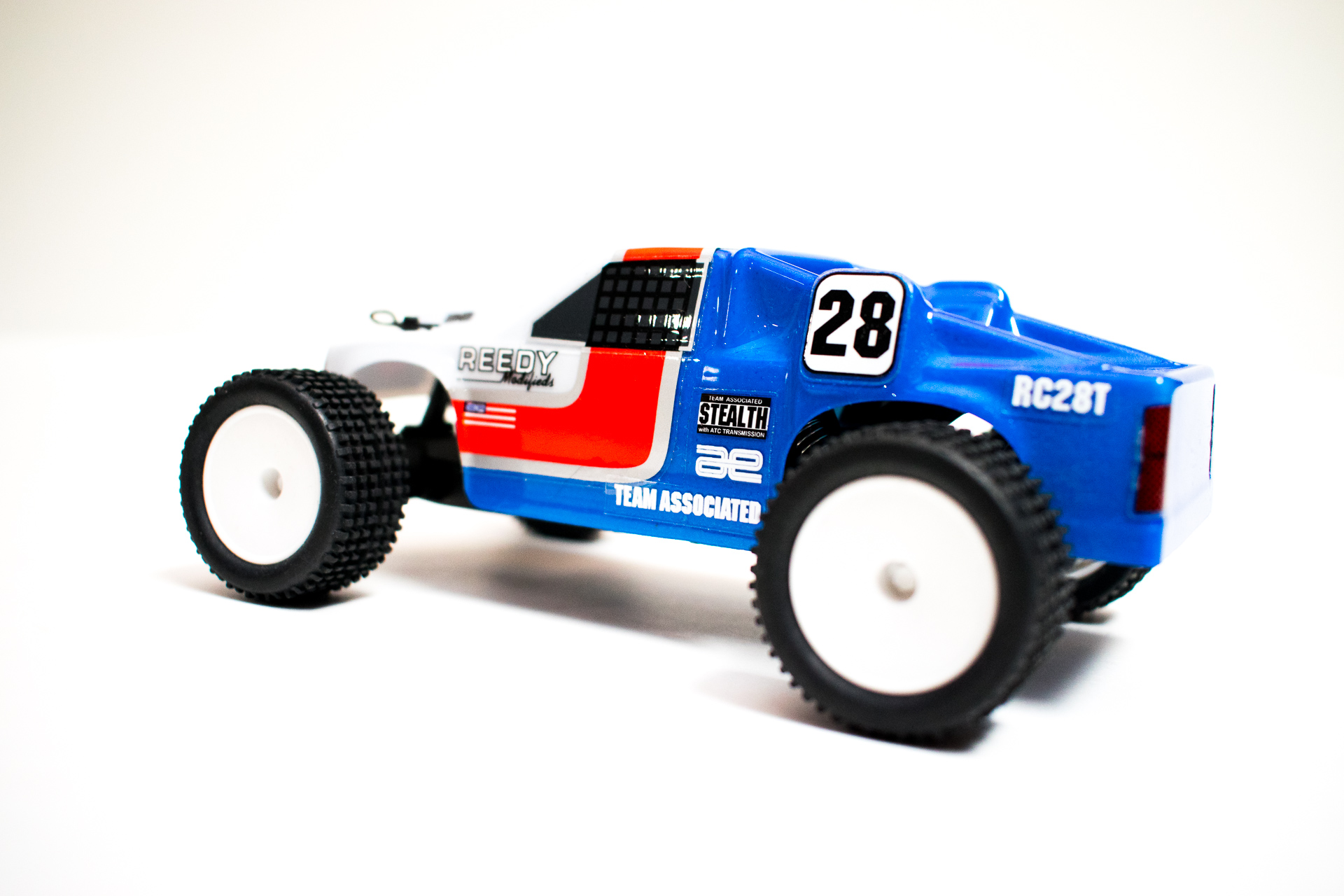 Team Associated RC28T - Rear Side
