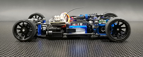 GL Racing Chassis - Side