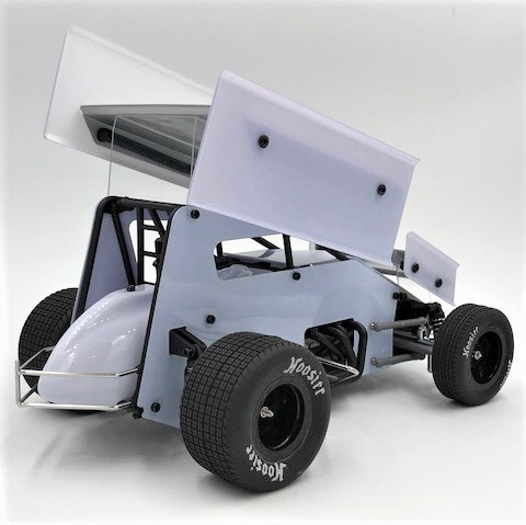 1RC Sprint Car - Rear