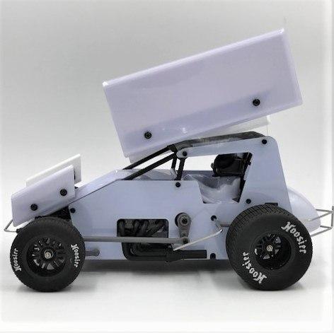1RC Sprint Car - Side