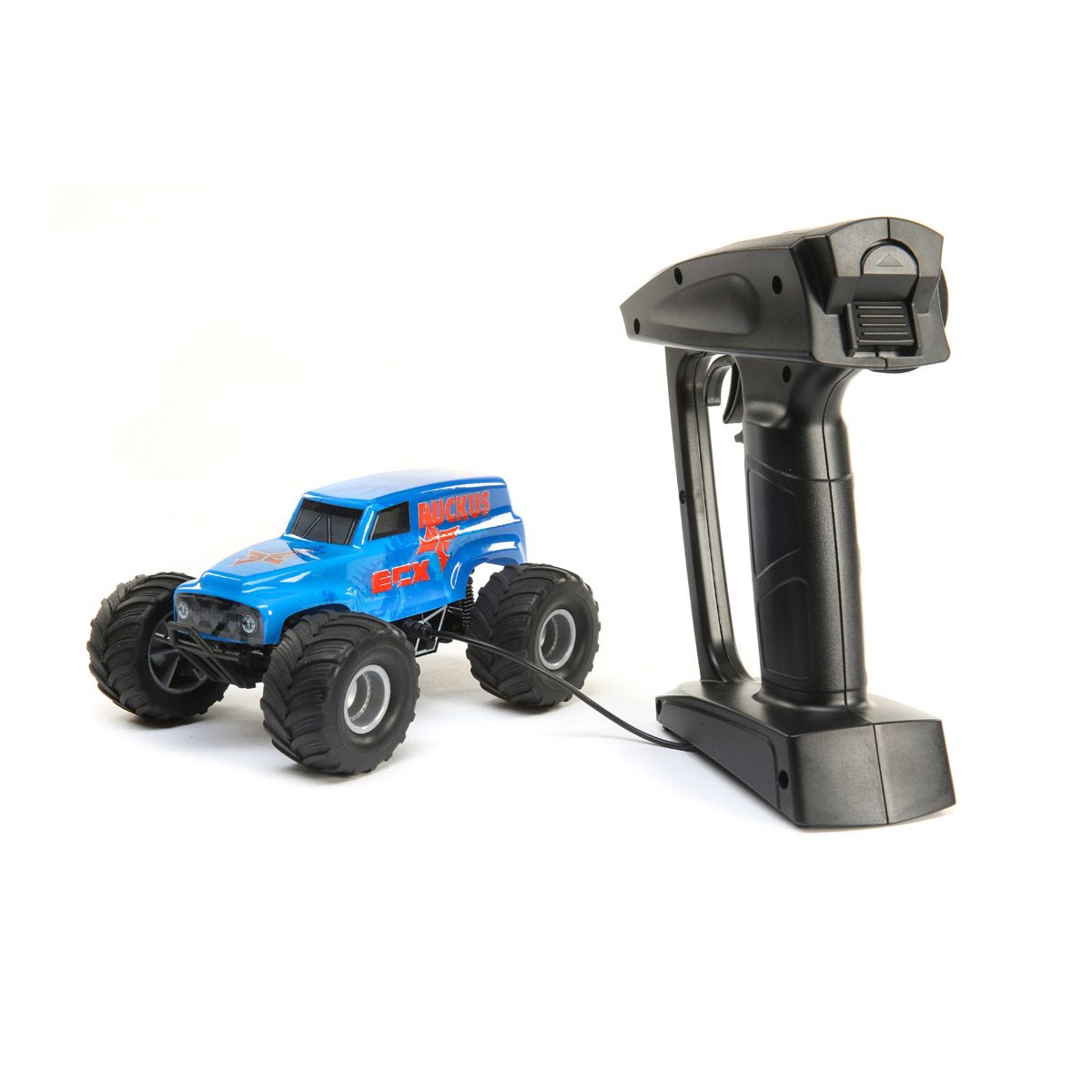 ECX Micro Ruckus Monster Truck - Plugged In