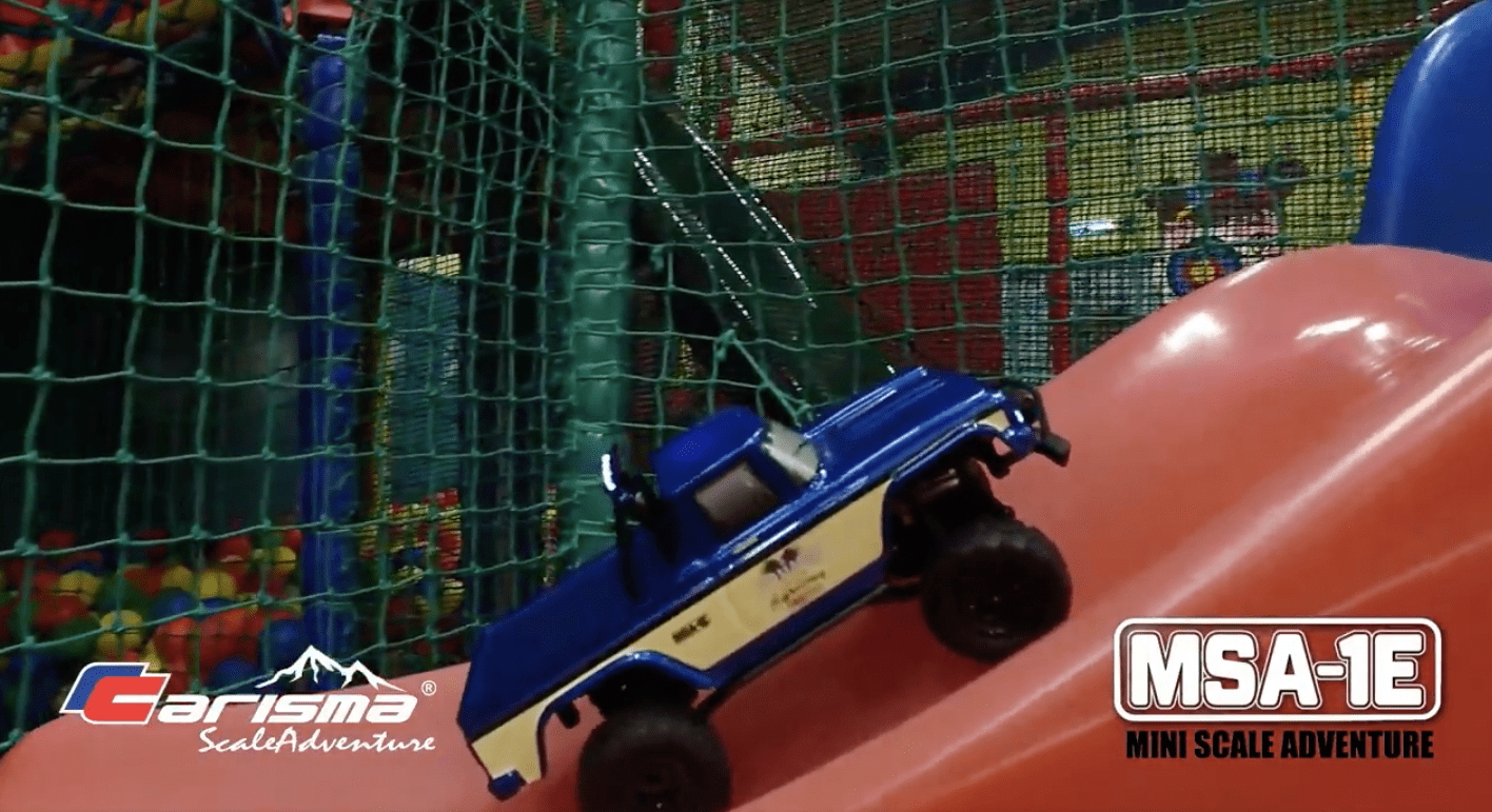Playhouse Fun with the Carisma Scale Adventure MSA-1E [Video]