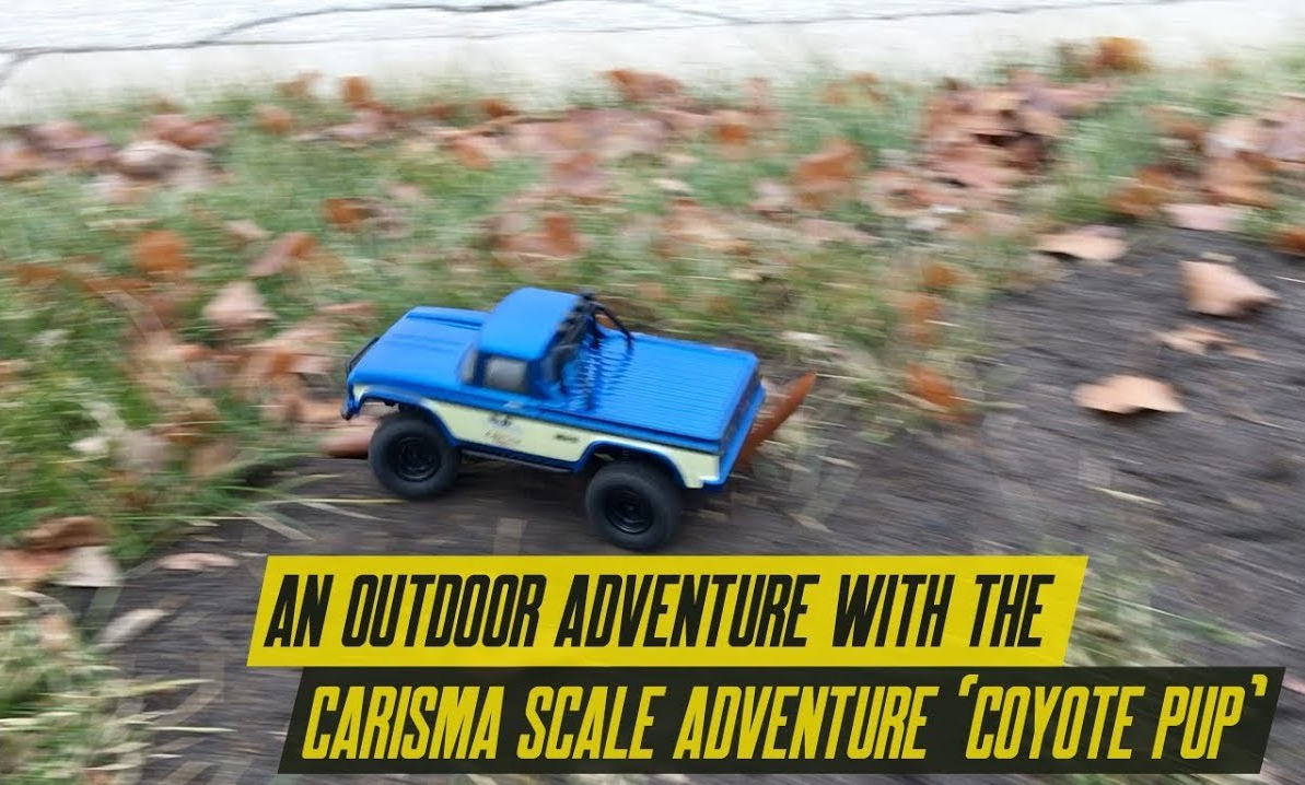 An Outdoor Test of the Carisma Scale Adventure Coyote Pup [Video]