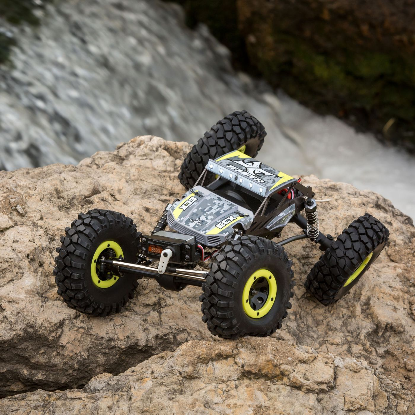 ECX Temper 1-18 GEN2 RC Crawler - On The Rocks