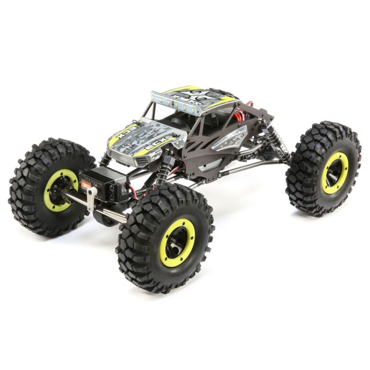 Hit the Rocks with the ECX Temper Gen 2 1/18-scale Rock Crawler