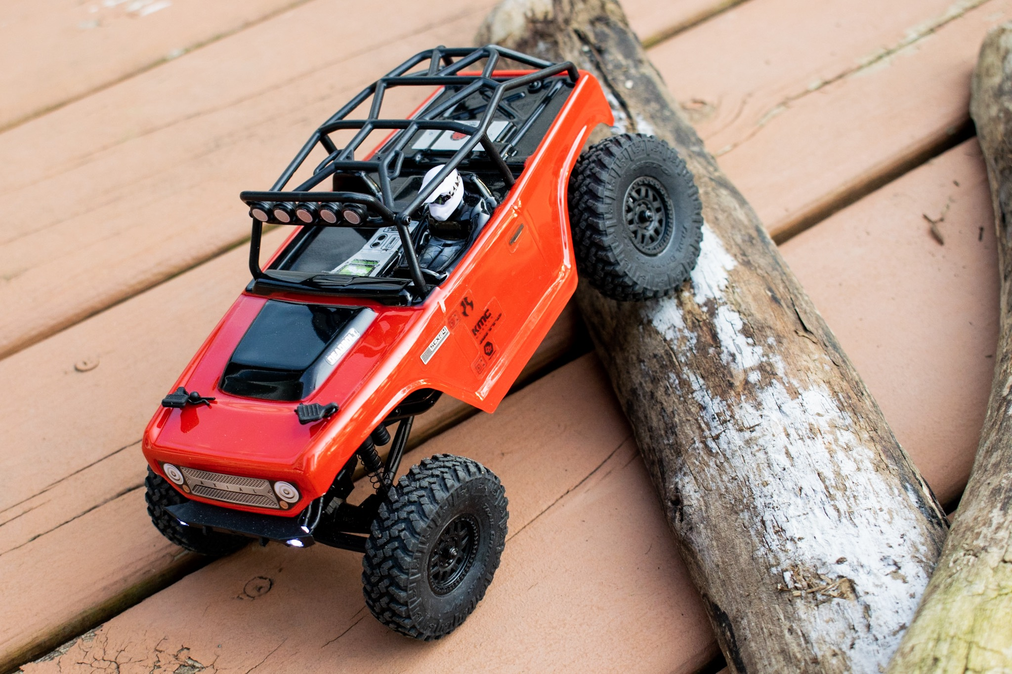 Axial SCX24 Deadbolt - Logs 2