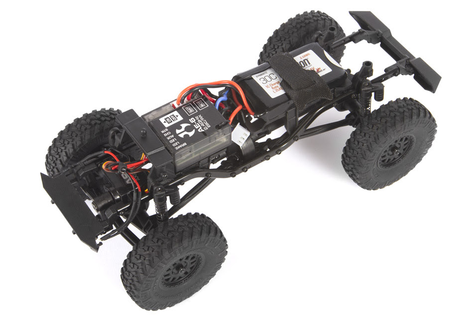 Axial SCX24 Jeep Wrangler JLU - Chassis