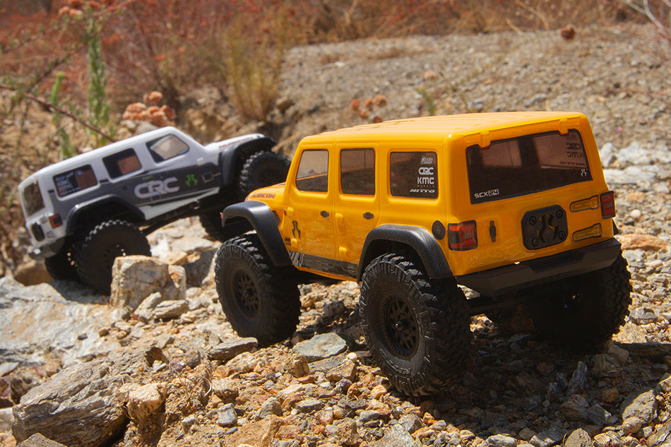 Axial SCX24 Jeep Wrangler JLU - Group Action