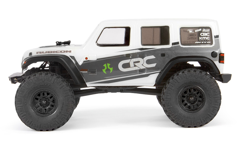 Axial SCX24 Jeep Wrangler JLU - Side White